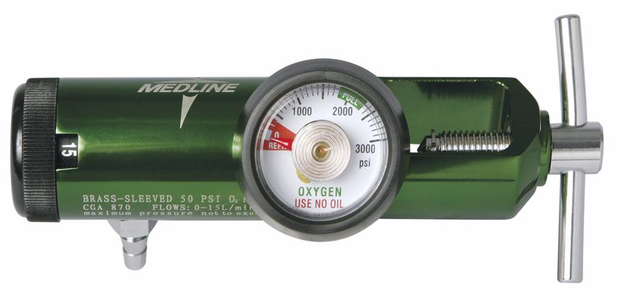 Best-Valued Oxygen Regulators,0 - 25 Liters per Minute